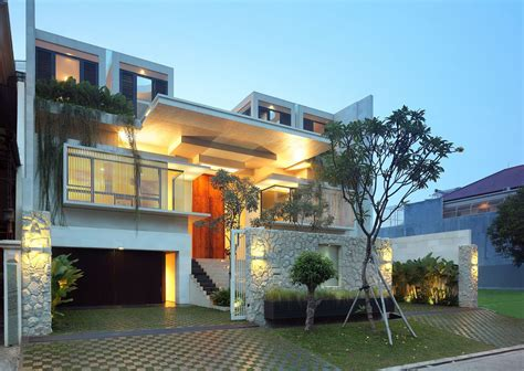 contemporary modern homes luxury garden house in jakarta idesignarch interior