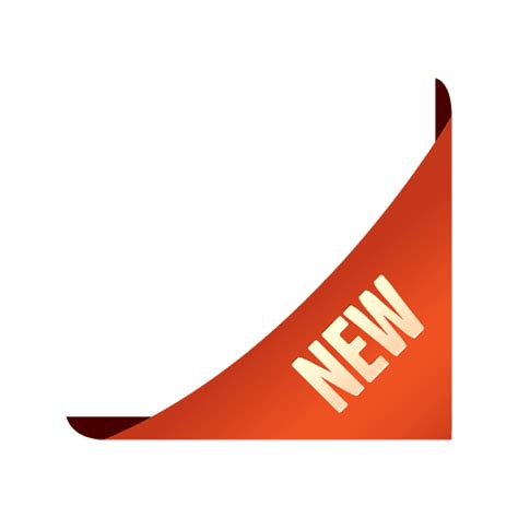 Cetak Stiker Transparant 9 Cm template corner sale sticker transparent png svg vector