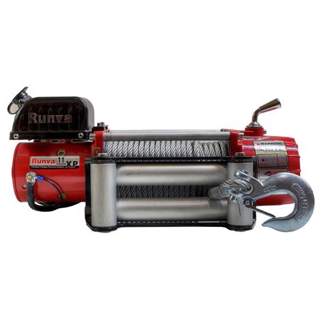 Runva Electric Winch Ewg 6000 runva 11 000 lbs capacity 12 volt wireless road electric winch with 85 ft steel cable 11
