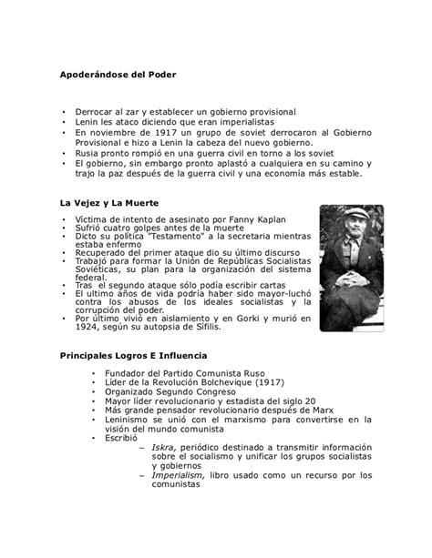 Lenin Biografia Corta - SEONegativo.com