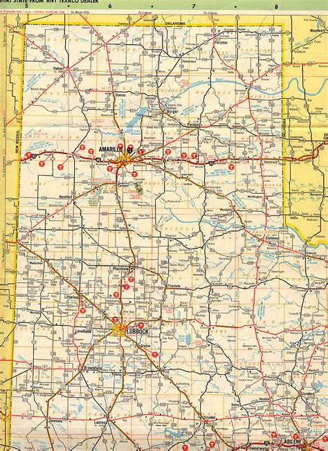 west texas road map texasfreeway gt statewide gt historic information gt road maps