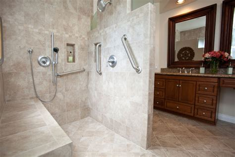 accessible bathroom design ideas accessible shower designs in your boston area home builders llc