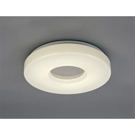 medium bathroom flush mount light ceiling fitting deco joop single light led medium bathroom flush ceiling fitting with white acrylic diffuser