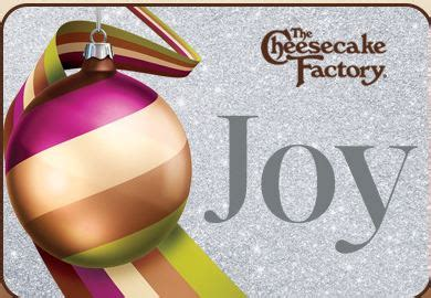 Where Can I Buy A Cheesecake Factory Gift Card - today only cheesecake factory 2 free slices with 25 gift card purchase