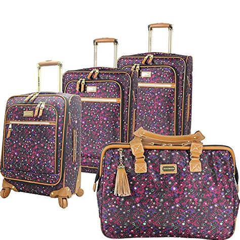 steve madden 4 spinner luggage collection