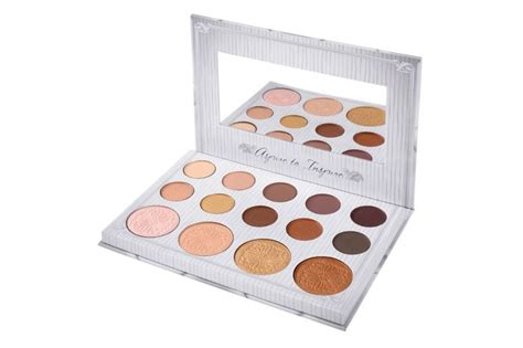 Bybel Bh Cosmetics bh cosmetics carli bybel eyeshadow highlighter palette