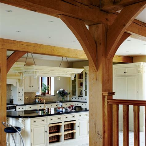 cream walls and exposed beams housetohome co uk exposed beams take a tour around this victorian barn
