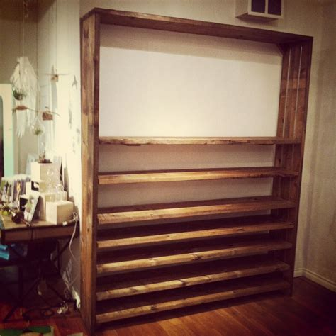 made adjustable reclaimed wood shelves by j s