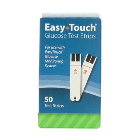 Easy Touch Strips Blood Glucose easytouch health pro glucose test strips medlab gear