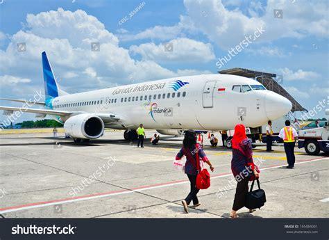 air asia yogyakarta airport yogyakarta oct 11 garuda indonesia airbus stock photo