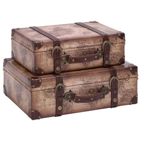 Decorative Suitcase by 2 Decorative Suitcase Set A Cozy Home