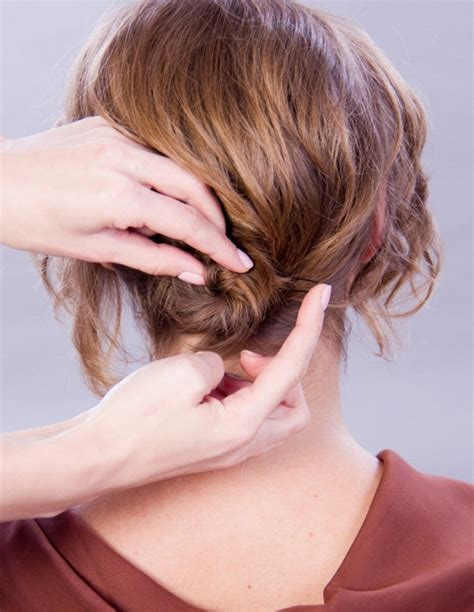 how to do an updo with thinning hair how to elegant updo for short fine hair