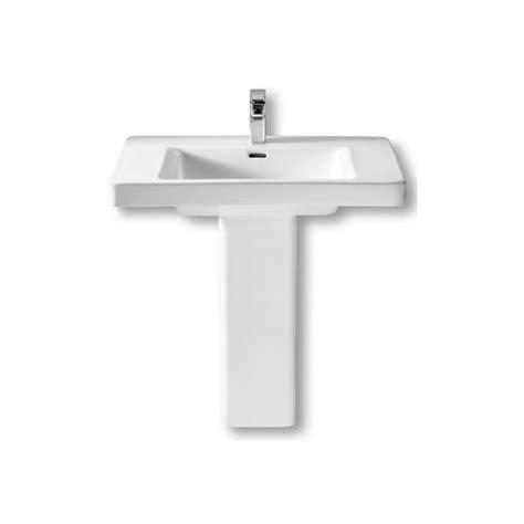 lavabos pedestal lavabo con pedestal khroma roca materiales de f 225 brica