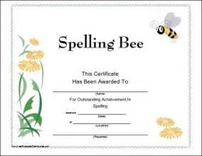 spelling bee certificate template 15 must see spelling bee pins bee decorations bee