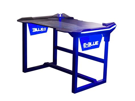 gaming desk computerpoweruser review e blue wireless glow