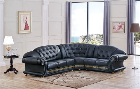 living room leather sectionals apolo sectional black sectionals living room furniture