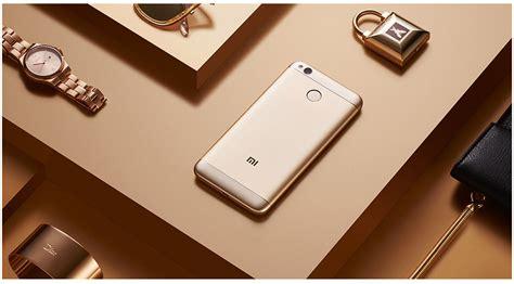 Xiaomi Redmi 4x Smartphone Gold 16 Gb 2 Gb xiaomi redmi 4x 2gb 16gb gold coupon 111 gadgets from