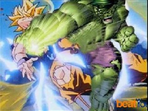 imagenes de goku vs hulk hulk vs goku infintearts101