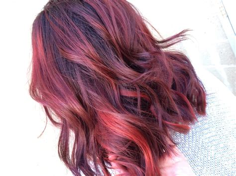 hairstyles red highlights red highlights ideas for blonde brown and black hair