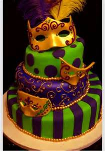 mardi gras cake cakes pinterest