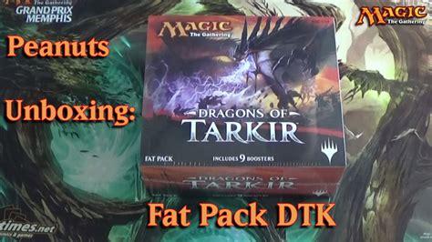 Magic Fatpack Dragons Of Tarkir peanuts unboxing dragons of tarkir pack magic the gathering