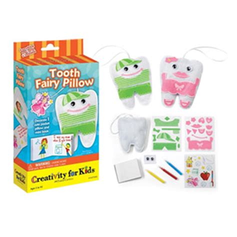 Tooth Pillow Kit by Tooth Keepsake Pillow Kit