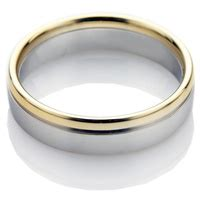 Two Metal Wedding Rings by Buyers Guide Metals Wedding Rings Direct
