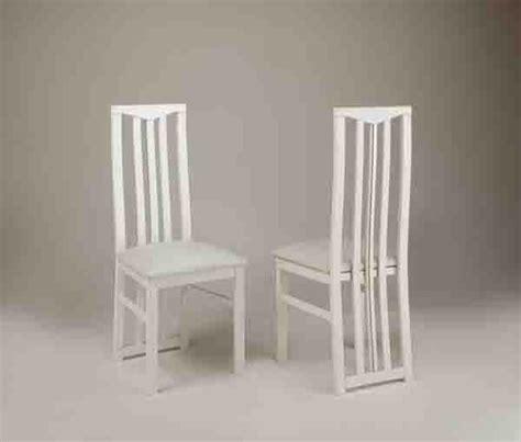 chaise de sejour chic laque blanc