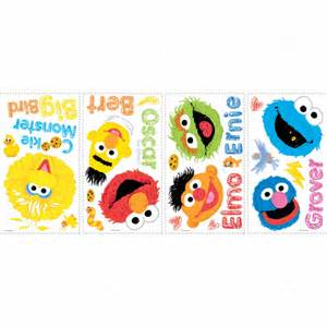 pics photos sesame street wall decals sesame street baby collection realbig wall decal