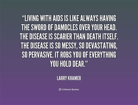 Quote Of The Day Larry Hardiman by Aids Quotes Quotesgram