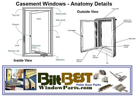 andersen window door parts window repair parts andersen biltbest window parts