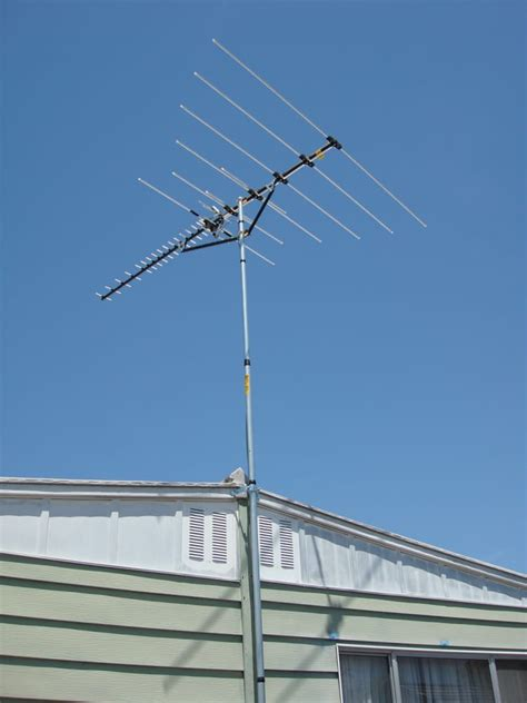 channel master 5020 antenna mounted to mobile home yelp