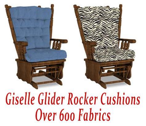 gliding rocking chair replacement cushions glider rocker cushions for chair