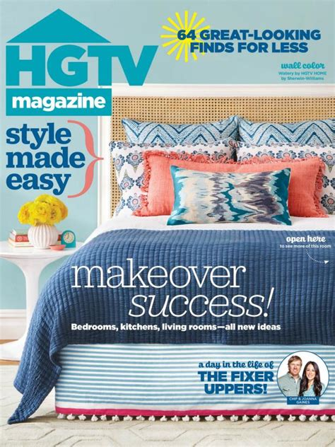 Hgtv Magazine Cover Giveaway - hgtv magazine april 2016 hgtv