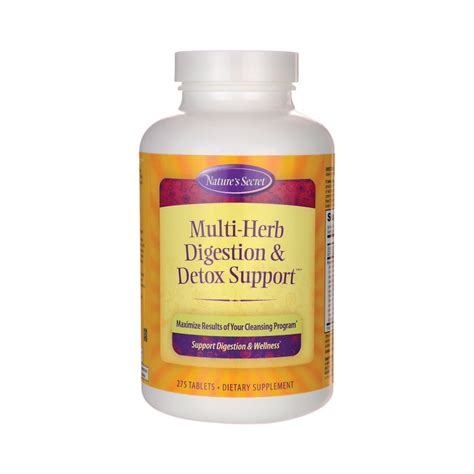 Tabs Detox by Multiherb Digestion Detox Support 275 Tabs