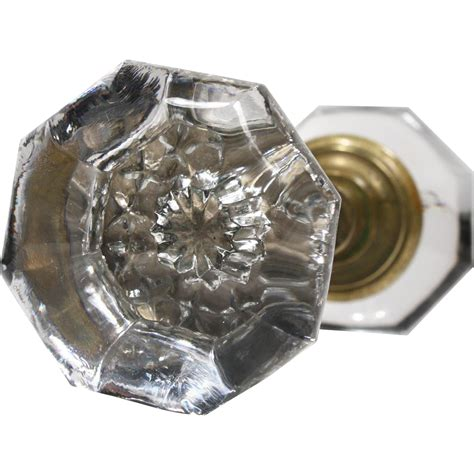 Glass Door Knob Sets Antique Glass Door Knob Sets With Early 1900s Preservation Station Ruby