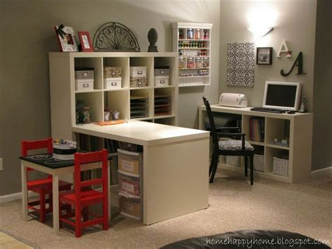 craft room setup this ikea scrapbook room den