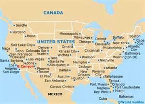 map of usa showing grand grand maps and orientation grand arizona