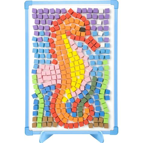 magnetic mosaics kids craft kit educational toys planet