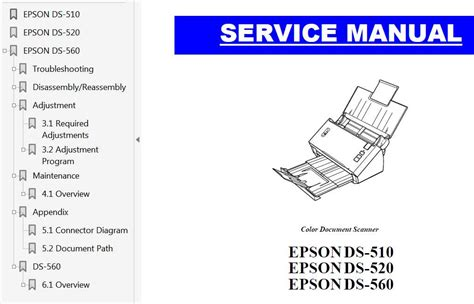 reset manual t11 epson ds 510 ds 520 ds 560 scaner service manual