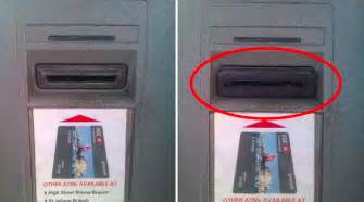 this is how you spot an atm skimmer watch daily headlines