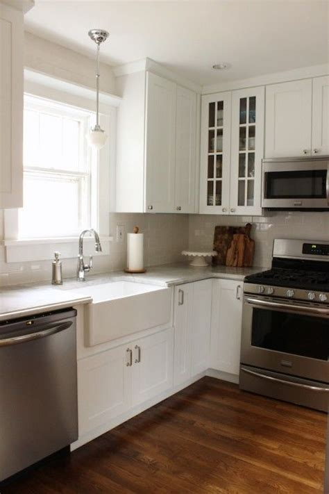 simple white galley kitchen traditional kitchen pinterest the world s catalog of ideas