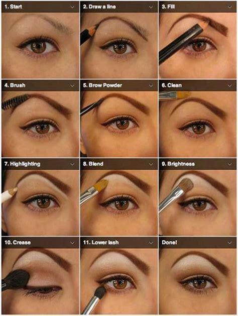 natural eye makeup tutorial for beginners 12 easy step by step natural eye make up tutorials for