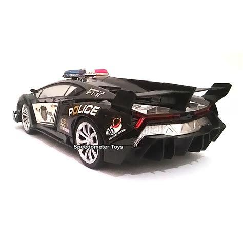 Mobil Remot Lamborghini Veneno Scala116 jual rc mobil lamborghini veneno polisi speedometer toys