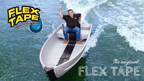flex seal on boat celebrating flex tape s milestone official site flex