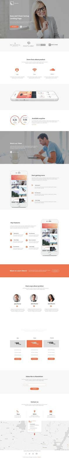 best templates for pages app 1000 images about best instapage template on pinterest
