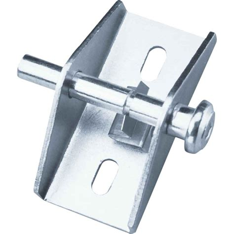 prime line zinc push pull sliding patio door lock u 9853