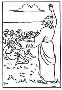 coloring pages jesus feeds the five thousand free coloring pages of jesus feeds five thousand