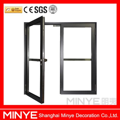 double swing fire doors double swing out commercial aluminum emegeny exit doors