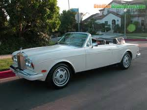 Used Rolls Royce Convertible 1981 Rolls Royce Corniche Convertible Used Car For Sale In